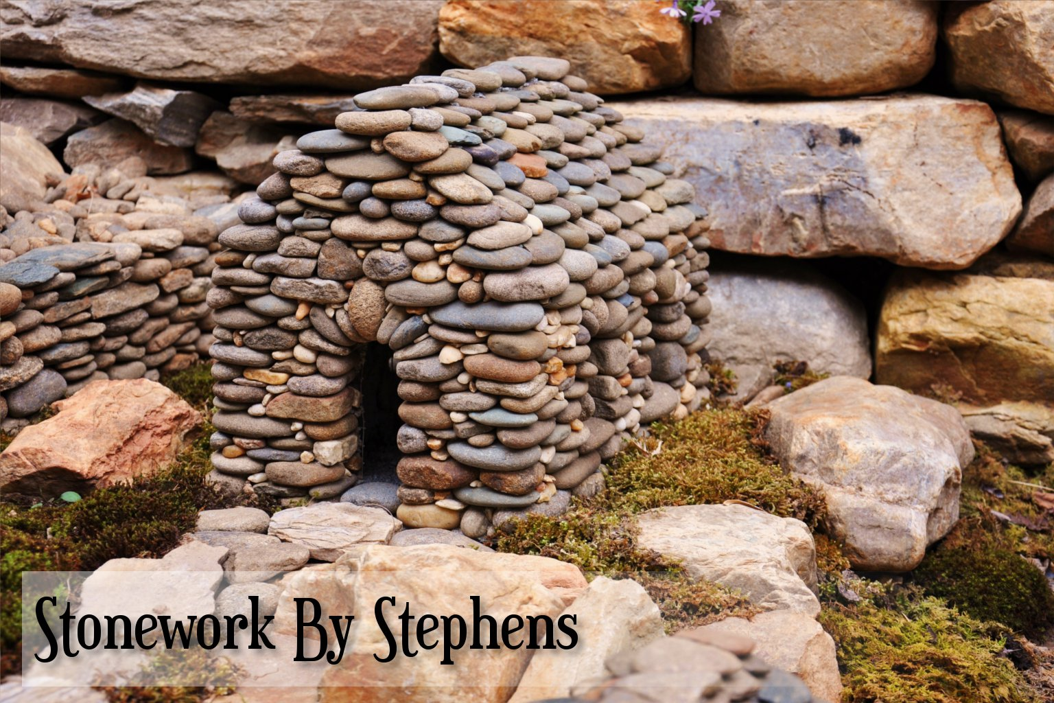 Miniature stone houses stoneworkbystephens Make your own toad house