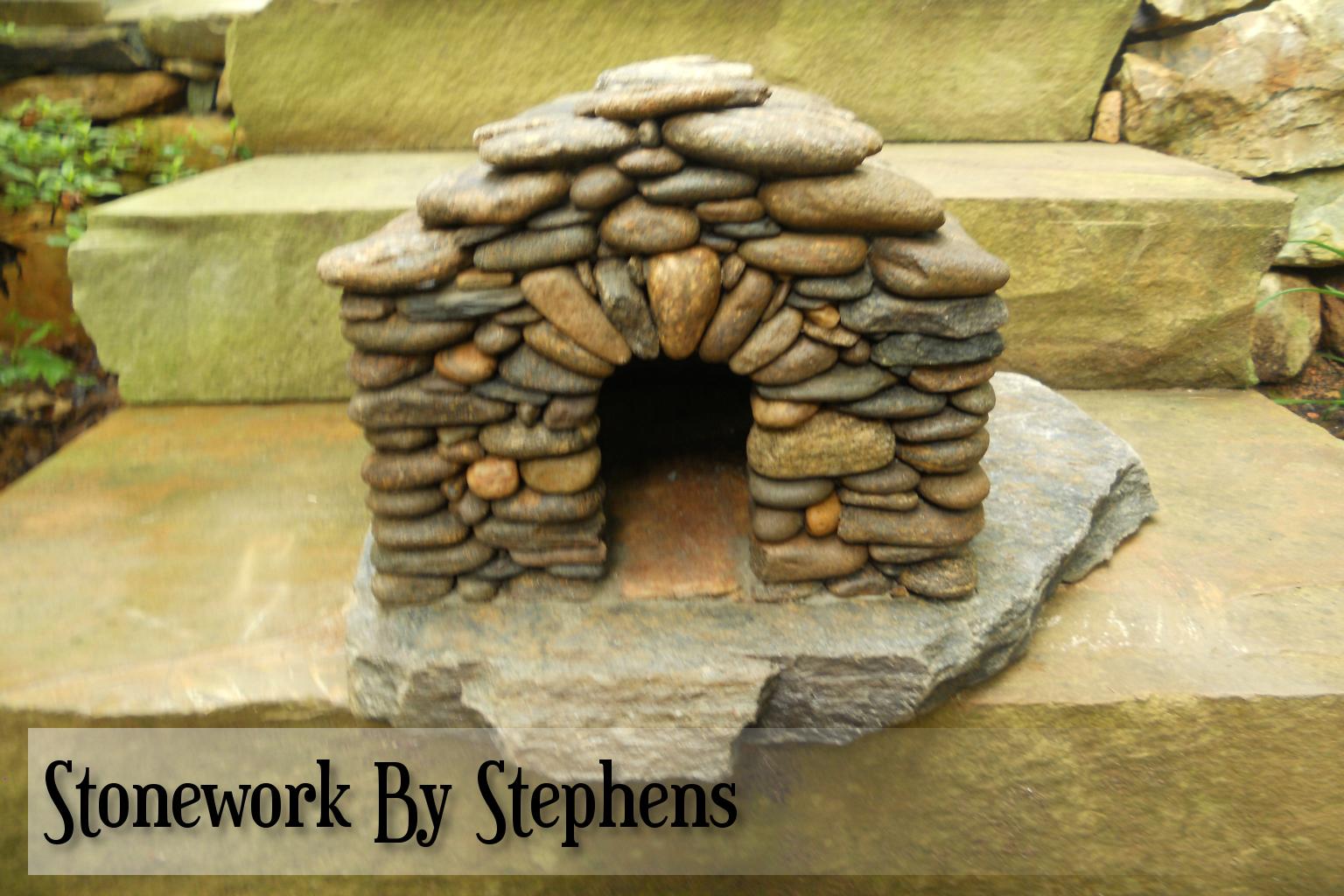 Miniature Stone Garden Houses. With Miniature Stone Garden Houses ...