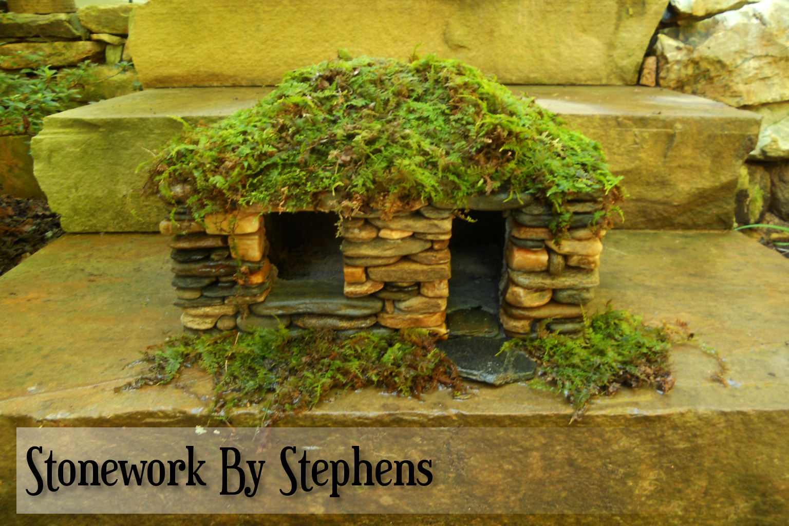 Miniature Stone Houses Stoneworkbystephens